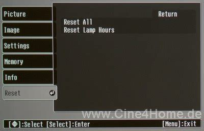reset epson printer factory settings www cine4home com review lcd projector epson emp tw 600