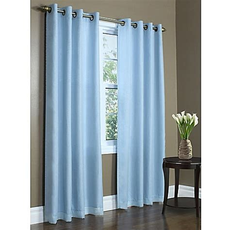 72 inch wide curtain panels buy commonwealth home fashions rhapsody 72 inch grommet