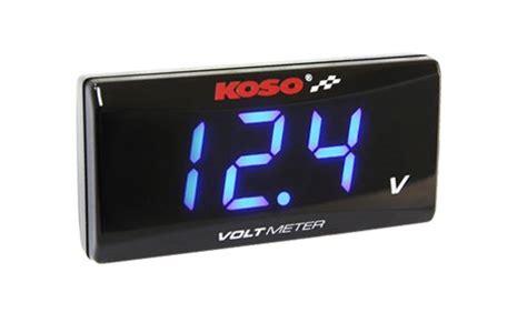 Voltmeter Koso koso slim style voltmeter