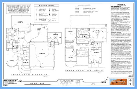 electrical plan what s in a good set of house plans randall southwest plans