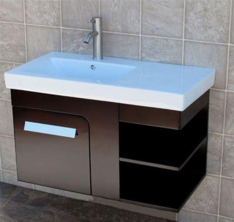 36 quot bathroom wall mount vanity cabinet ceramic top