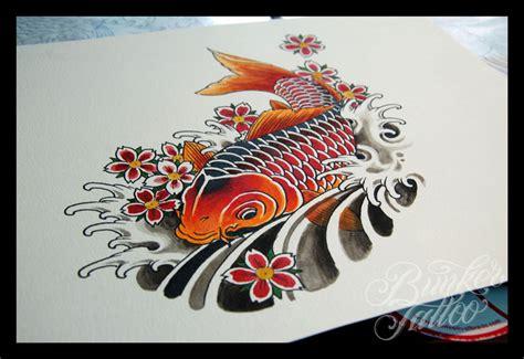 tatuaggi carpe e fiori tatuaggio carpa koi tatuaggi it