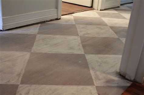 chalk paint for floors sloan s chalk painted floor distressing