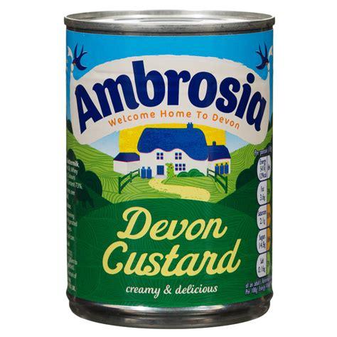 B&M Ambrosia Devon Custard 400g   108868   B&M