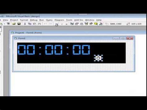 cara membuat jam digital led jam digital mini 6 digit doovi