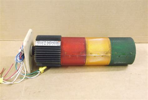 federal signal stack light federal signal beacon stack light litestak lsb 120 red