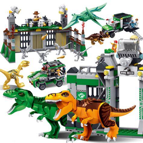 Frame Lego Jurassic World Jurassic Dinosaur World Park Toys Figures Tyrannosaurs Rex