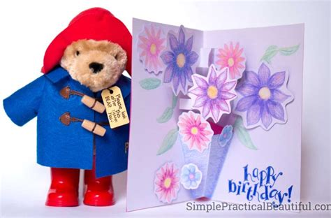 paddington 2 the junior novel books how to make a pop up card inspired by paddington 2