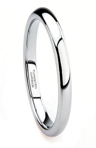 Tungsten Carbide Ring For Classical 3mm tungsten ring 3mm tungsten wedding band 3mm classic tungsten ring