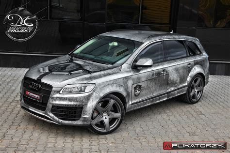 Audi Q7 Aufkleber by Vehicle Wrap Design Audi Q7 Transformers V12 Małachowski