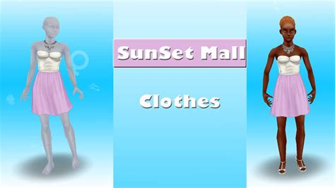 design clothes the sims freeplay sims freeplay sunset mall clothes youtube