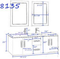 Sink Vanity Plumbing Diagram Cambridge Plumbing Wood And Porcelain 59 Modern