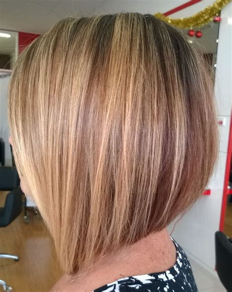 slanted hair styles cut with pictures the 25 best blonde angled bob ideas on pinterest blonde