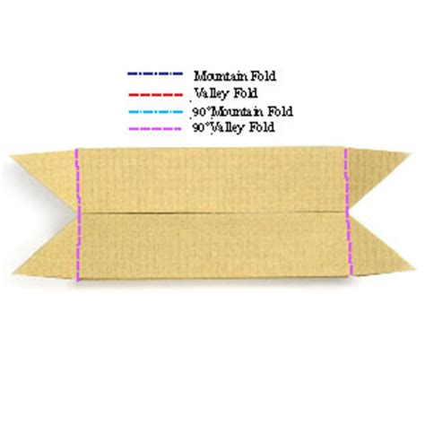 how to make an origami boat stand page 7
