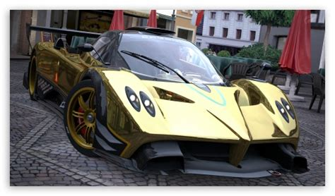 pagani zonda gold pagani zonda r gold 4k hd desktop wallpaper for 4k ultra