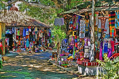 Open Shower Ideas mexican market hdr photograph by randy harris