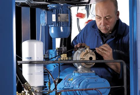 compressor servicing maintenance airflow compressors pneumatics