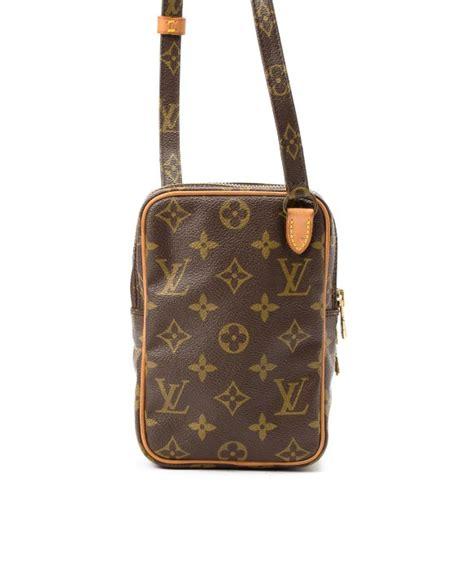 Lv Mini Bag Bn8650 lyst louis vuitton mini shoulder bag in brown