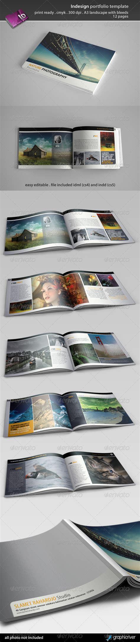 portfolio print template indesign portfolio template by semutireng graphicriver