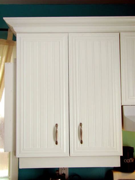 how to reface cabinets with beadboard the world s catalog of ideas