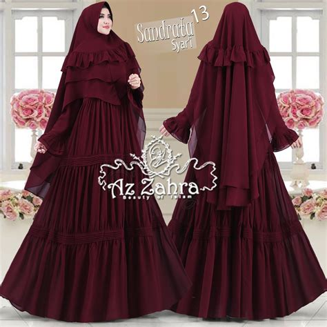 Gamis Pesta Original supplier gamis syari gamis pesta branded original murah