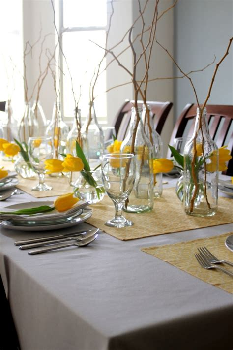 table ideas 61 stylish and inspirig spring table decoration ideas