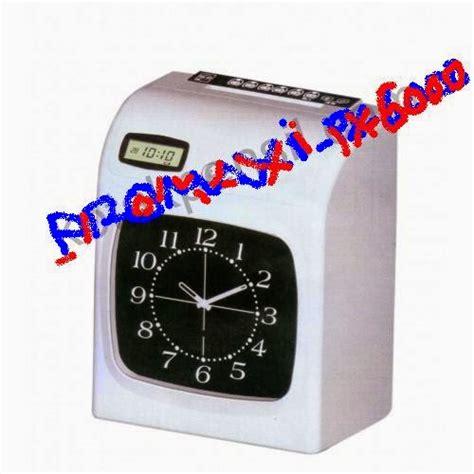 Fingerprint Promaxi promaxi px 6000 mesin absensi fingerprint