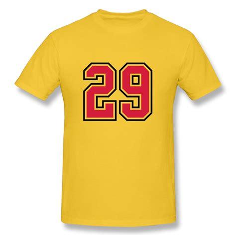 29 T Shirt 2014 summer sleeve mens t shirt 29 sports jersey football number design symbols t