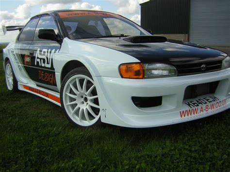 subaru gc8 widebody widebody subaru impreza gc8 92 00 4doors attack
