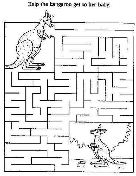 printable owl maze the 25 best kangaroo kids ideas on pinterest toddler