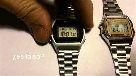 Digital Original casio falsificacion reloj digital 2