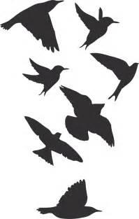 Asian Wall Murals birds wallpaper decal sticker black bird decals bird