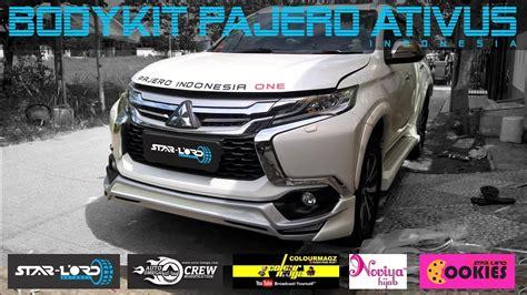Bodykit Mobil Mitsubishi Pejero Sport bodykit pajero sport model ativus