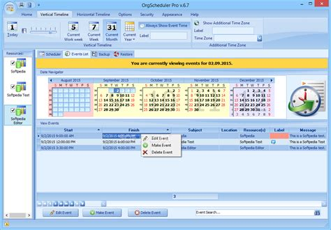 orgscheduler pro a complete calendar and scheduling orgscheduler pro download