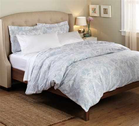 blue paisley bedding 100 percent cotton printed duvet set full queen quilt