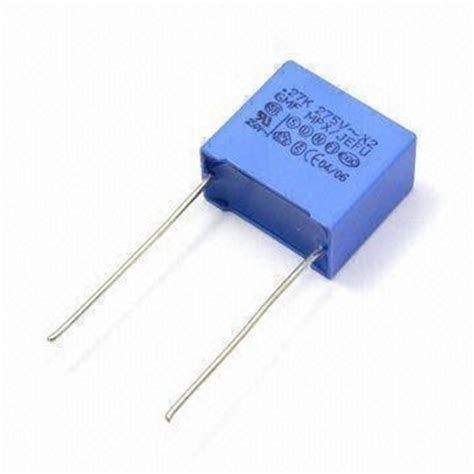 polypropylene capacitor taiwan metallized polypropylene capacitor with retardant plastic and epoxy resin