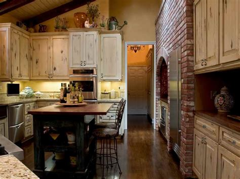 kitchen rustic italian kitchen designs for warm and soft