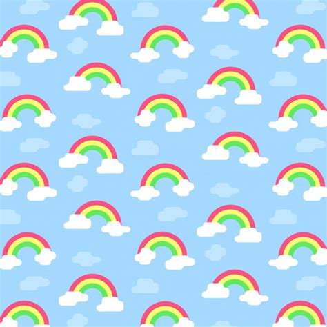 what pattern is the rainbow rainbow pattern vector free download