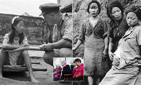 dutch comfort women south korean comfort women blast japan apology over ww2 sex slavery daily mail online