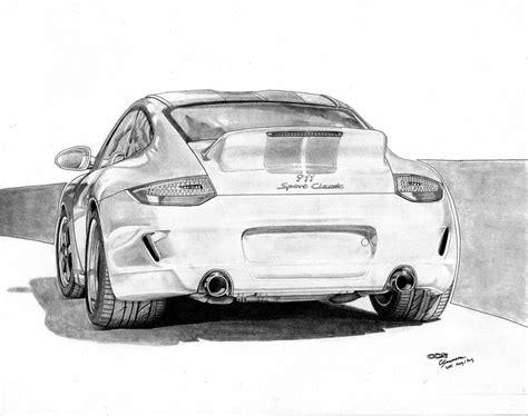 Porsche 911 Sketches by Porsche 911 Sport Classic By Sesven On Deviantart