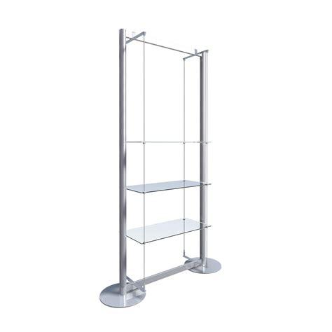 glass display shelves freestanding display with 3 glass shelves gt freestanding