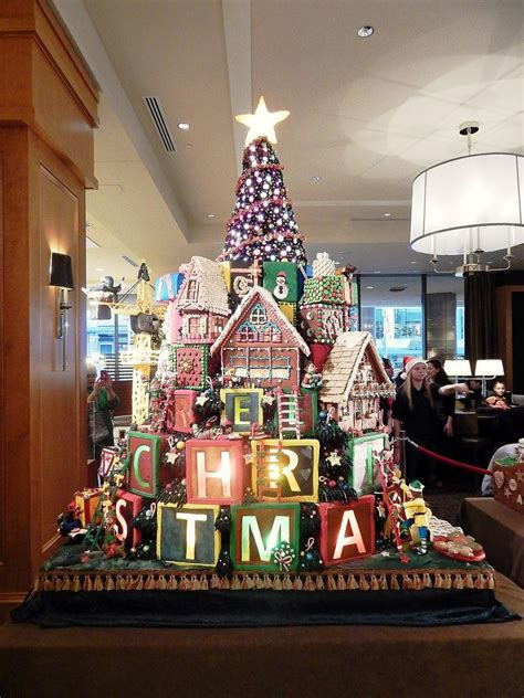 Seattle Gingerbread Houses by How Sweet It Is Gingerbread Open At Sheraton
