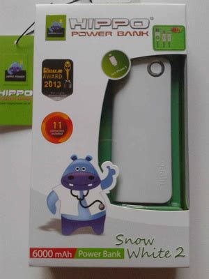 Hippo Power Bank Planes 6000mah vivan ips15 12000 mah cleopatra