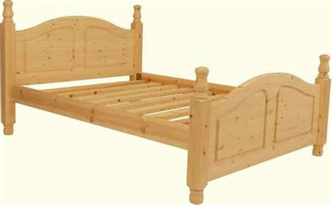 Handmade Pine Beds - handmade pine colne bed high end kingsize
