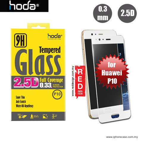 Huawei P10 Tempered Glass Screen Protector Antigores Screen Guard Kaca huawei p10 5 1 screen protector hoda 0 33mm