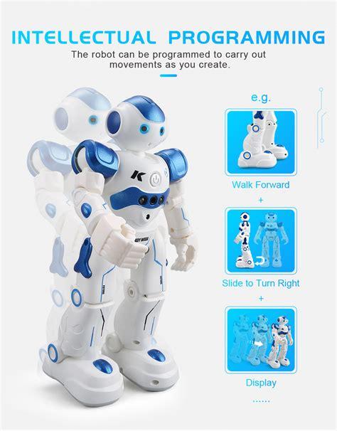 Promo Jjrc R2 Robot Cady Wida Intelligent Programming Gesture jjrc r2 rc robot rtr blue