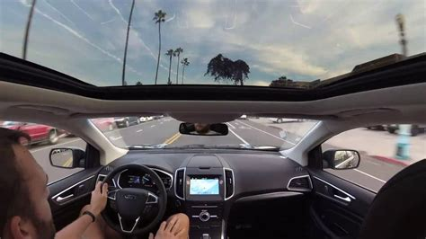 Sunroof Ford ford edge panoramic sunroof