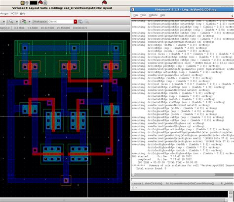 layout design for xor gate 2 input xor gate wquan01ee103finalproj
