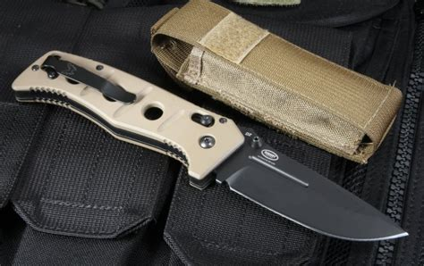 benchmade adamas 275bksn black blade handle for sale