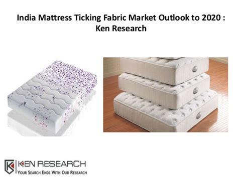 Mattress India by India Mattress Ticking Fabric Market Outlook To 2020 Ken